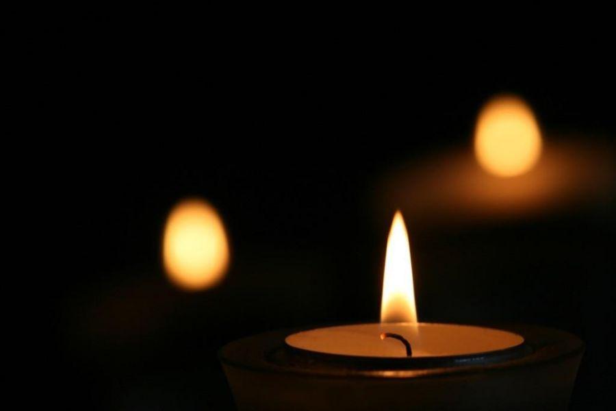 Картинки с траурной свечой, валентинка